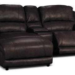 Genuine Leather Sectional Sofa With Chaise Ikea Marco 3 Piece Power