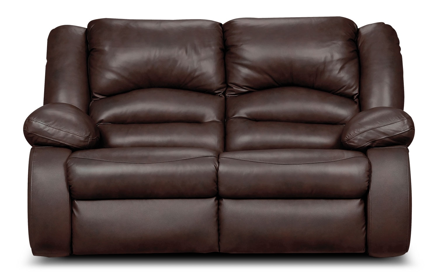 Real Leather Recliner Chairs Toreno Genuine Leather Power Reclining Chair Brown The