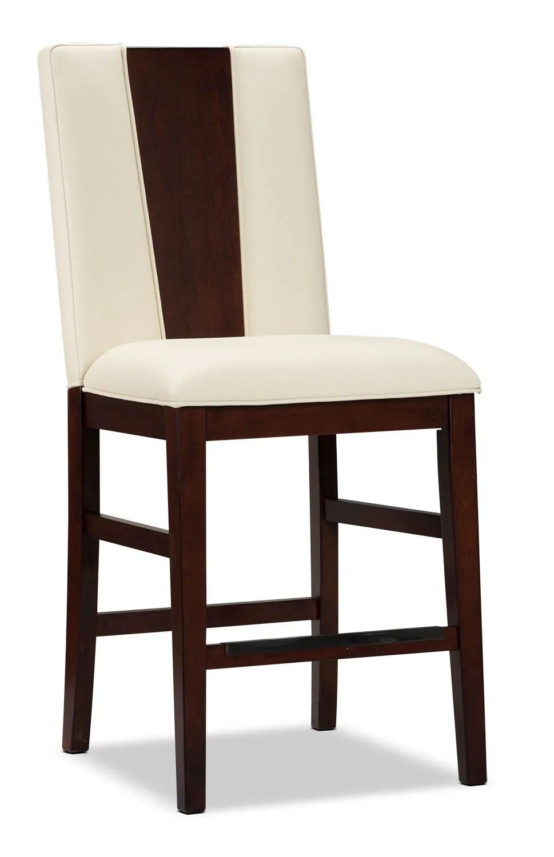 Zeno CounterHeight Dining Chair  Wood Back  The Brick