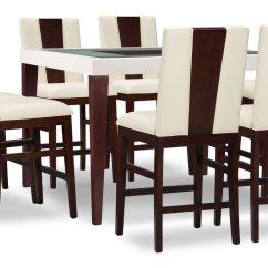 Counter Height Dining Chair Covers Canada Zeno  Wood Back The Brick