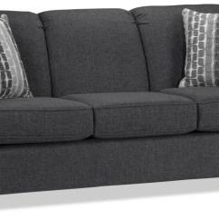 Leon S Sofas Disney Flip Sofa With Slumber Aristotle - Graphite | Leon's