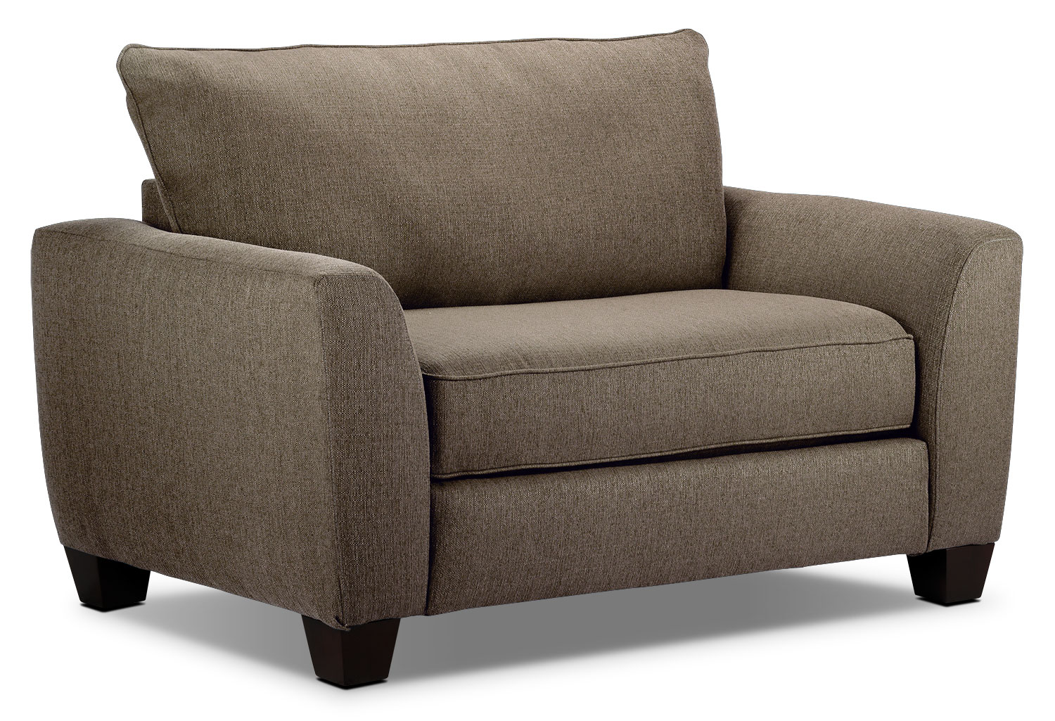 one and a half chair canada comfy lounge heritage nutmeg leon 39s