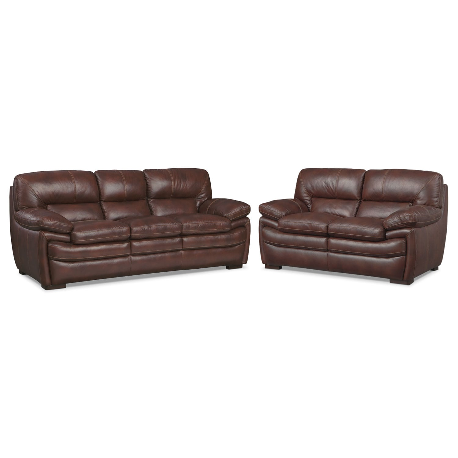 chestnut colored leather sofa best sleeper consumer reports peyton american signature furniture
