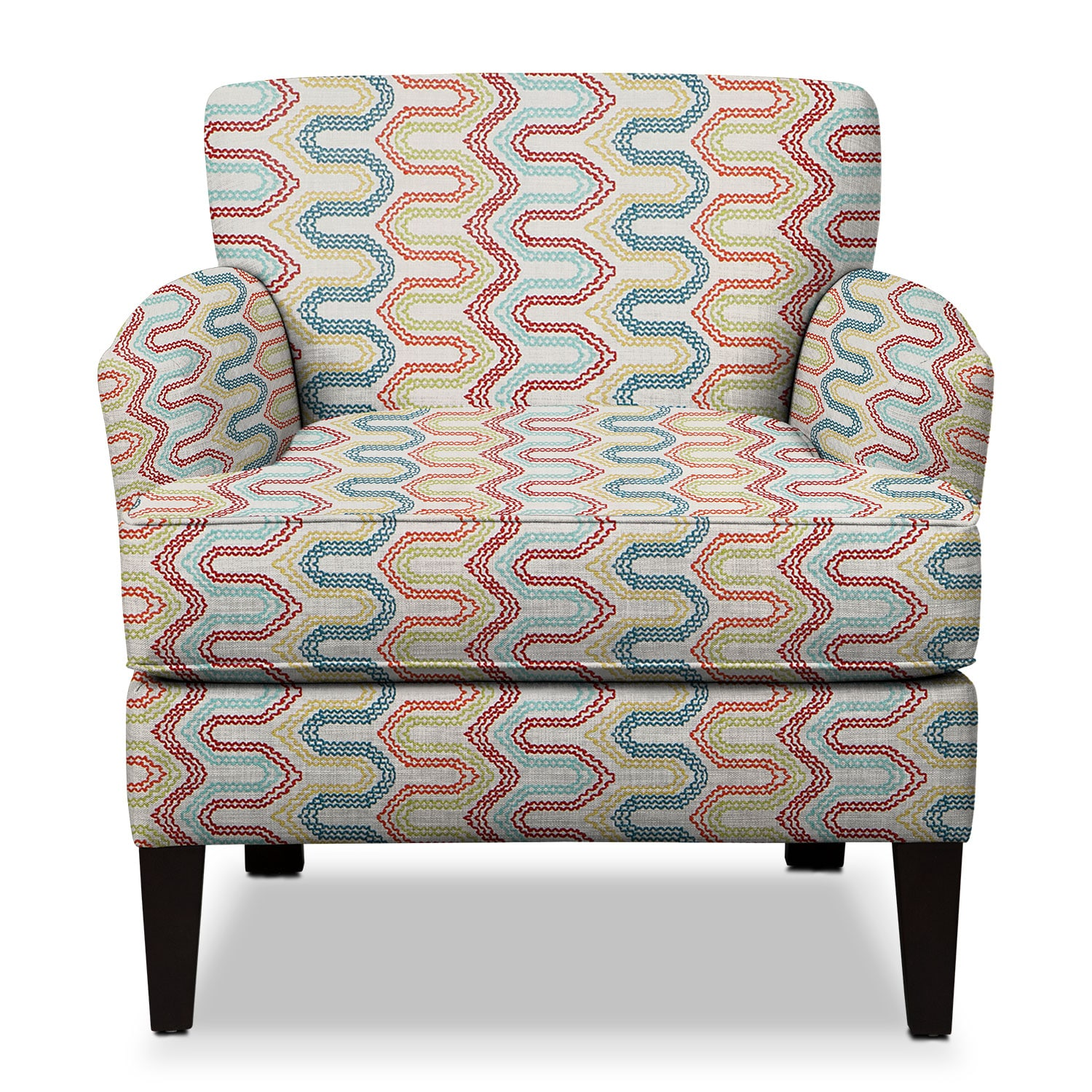 Multi Colored Accent Chairs Marcus Accent Chair Multi American Signature Furniture