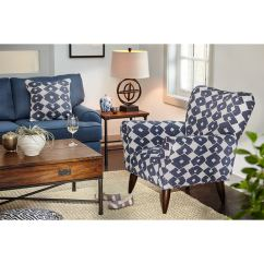 Blue Accent Chairs For Living Room Chair Covers Price Jessie Value City Furniture