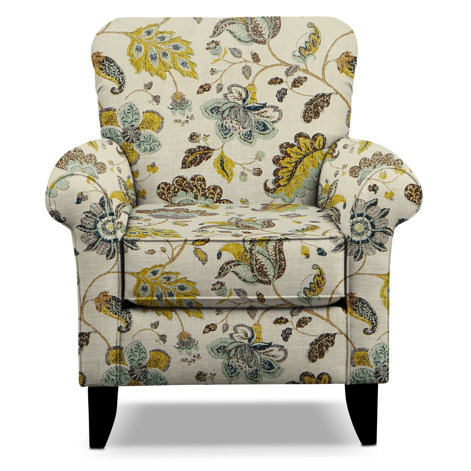 Floral Chair Tracy Accent Chair Floral Value City Furniture
