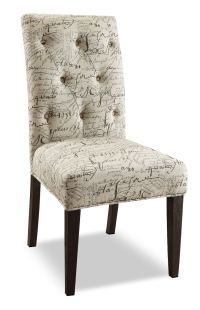 French Script 2 Piece Accent Dining Chair Package | The Brick