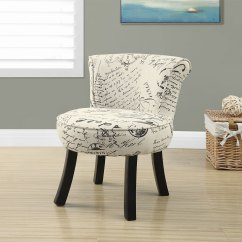 Kids Accent Chair Reclaimed Wood Chairs Monarch Children 39s  French Script The Brick