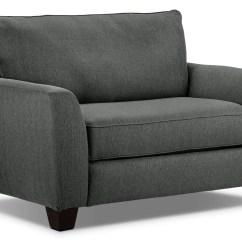 Gray Chair And A Half Ikea Orange Covers Heritage Grey Leon 39s