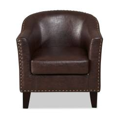 Brown Accent Chairs Chair Gym Vs Resistance Brogan Value City Furniture