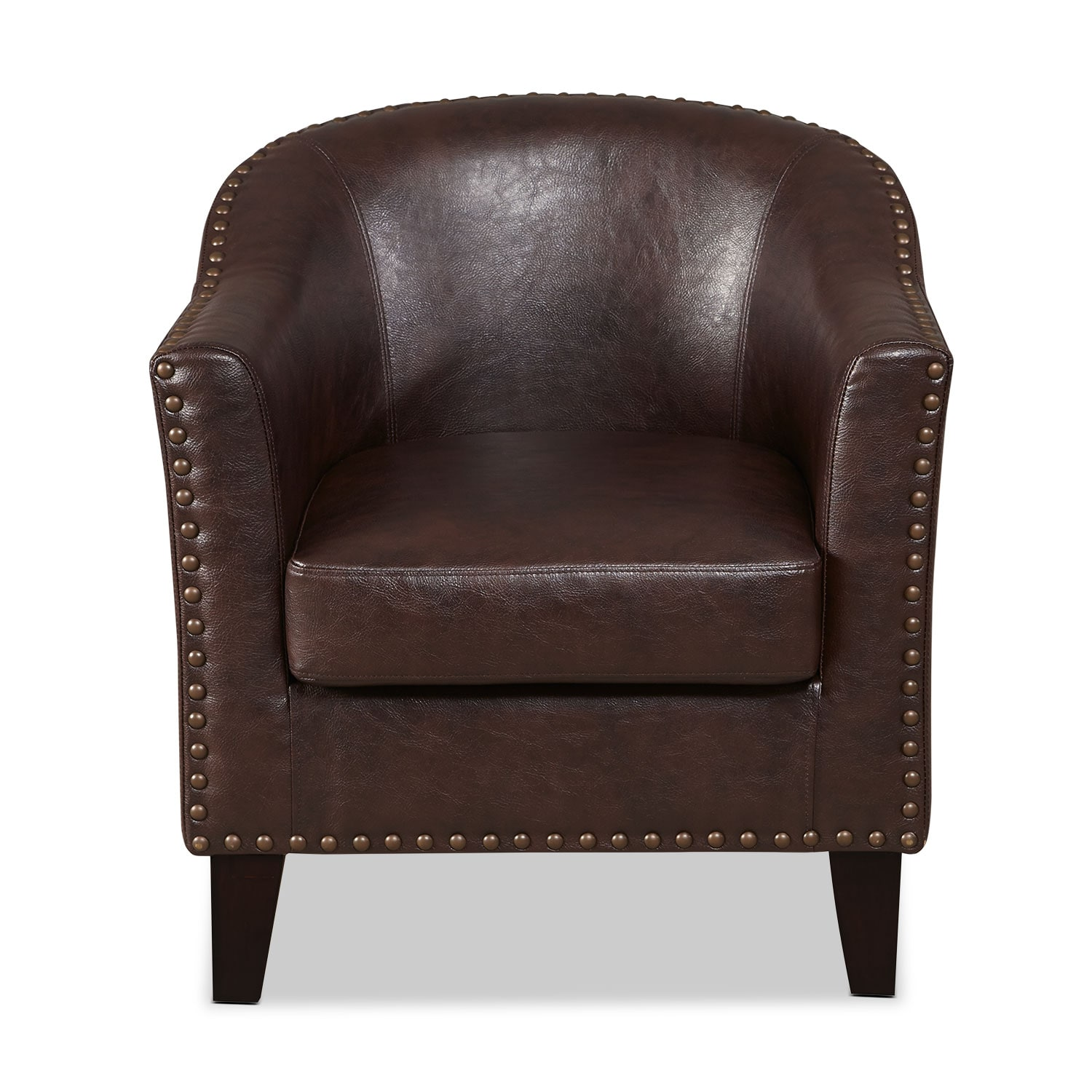 Brown Accent Chairs Brogan Accent Chair Brown Value City Furniture