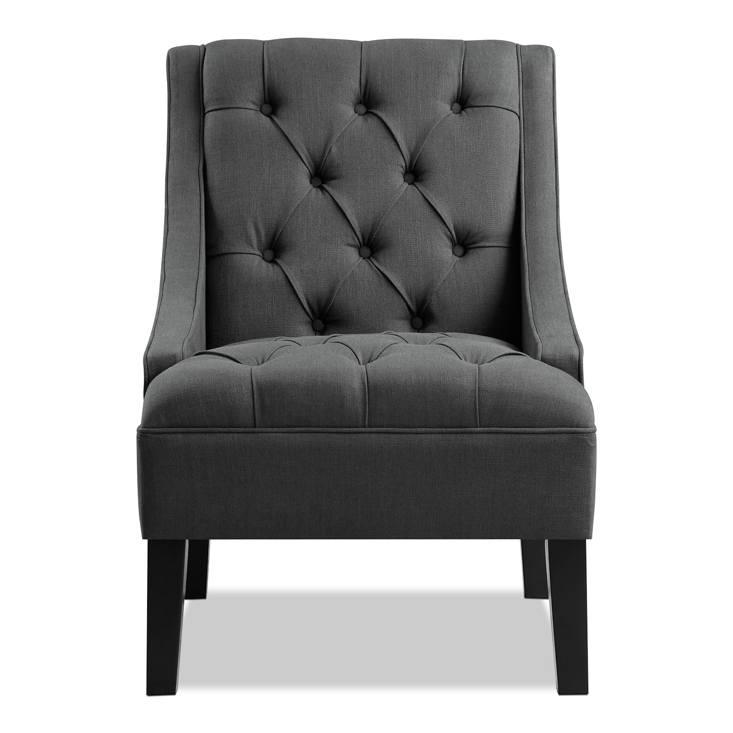 Greylin Accent Chair - Gray American Signature Furniture