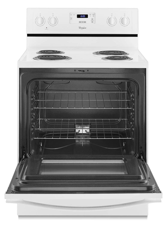 maytag kitchen ranges white granite countertops whirlpool freestanding electric range (4.8 cu. ft ...