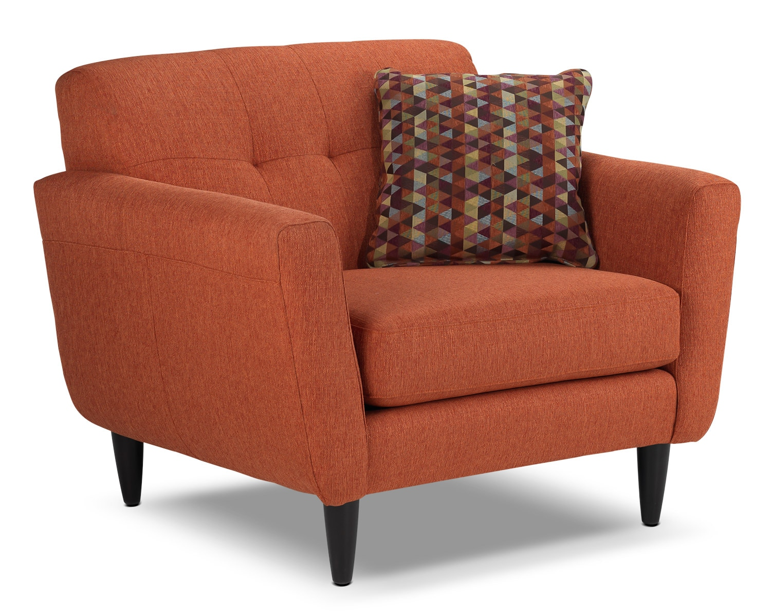 Orange Living Room Chair Cobra Chair And A Half Orange Leon 39s