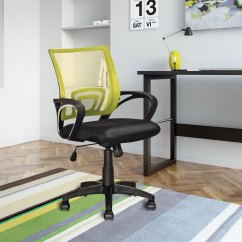 Yellow Office Chair Tall Director Loft Mesh  The Brick