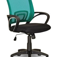 Teal Computer Chair Dining Room Chairs On Casters Loft Mesh Office  The Brick