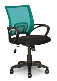 Loft Mesh Office Chair  Teal | The Brick