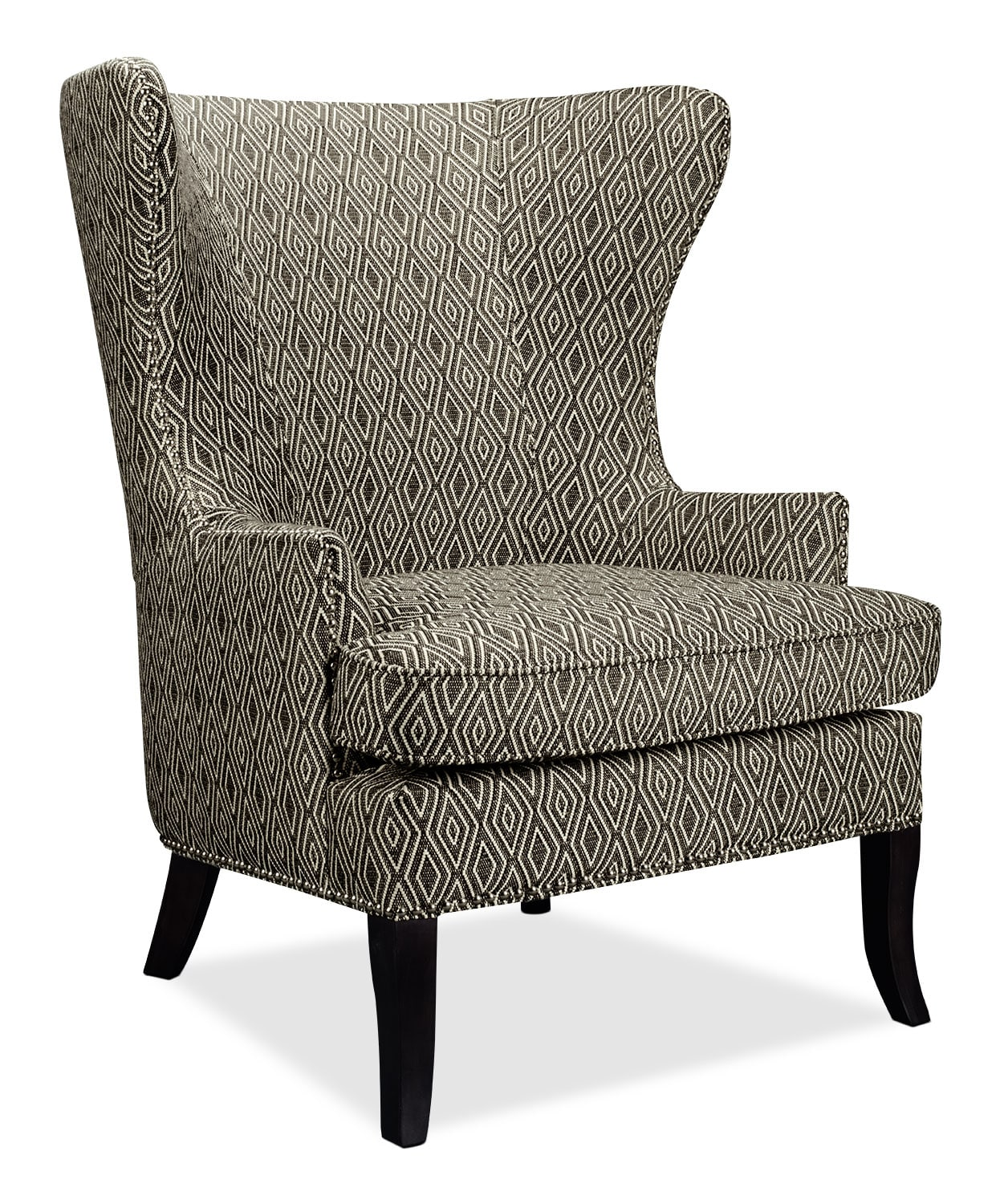 accent chairs in living room iron patio chair cushions oscar fabric the brick