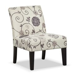 Floral Upholstered Chair Ebay Covers For Weddings Wylie Side Value City Furniture