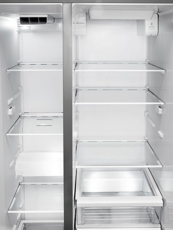 Whirlpool Side by Side Stainless Refrigerator