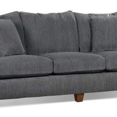 Home Theatre Sectional Sofas Wide Putty Chenille Queen-size Sofa Bed- Grey | The Brick