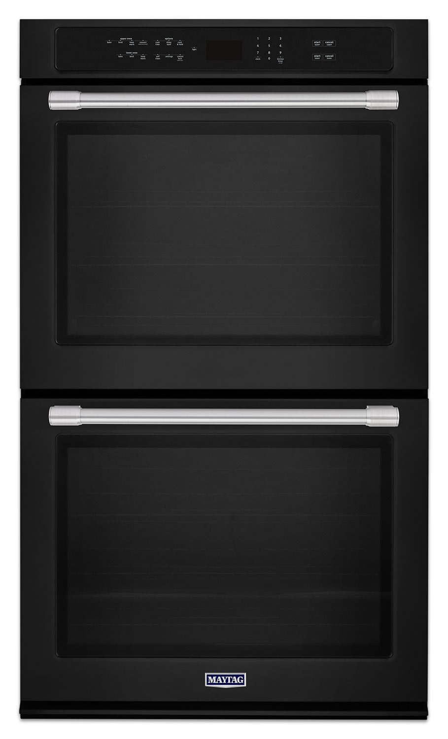kitchen aid tv offer ceiling lights maytag black electric double wall oven (10.0 cu. ft ...