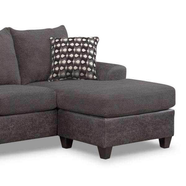 Value City Furniture Sofa with Chaise