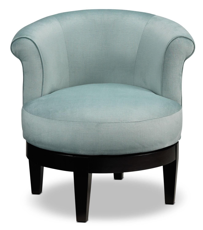 accent swivel chairs mahogany chiavari wedding attica chair aqua leon 39s