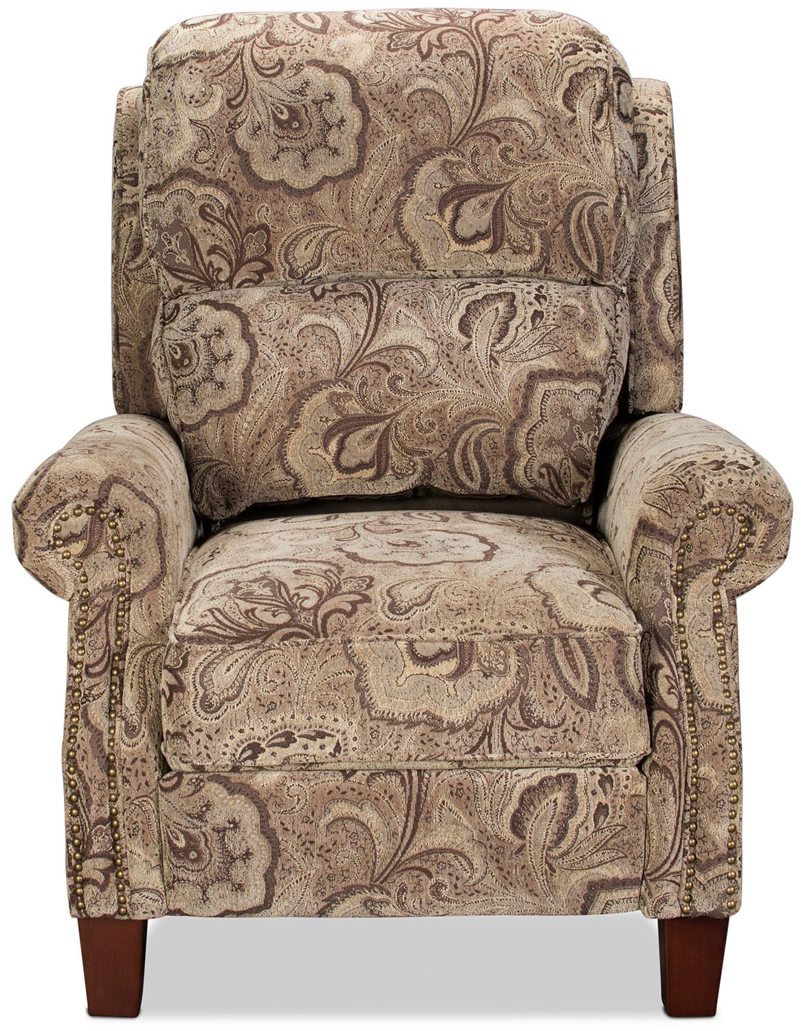 black and white paisley chair gripper pads recliners rockers levin furniture