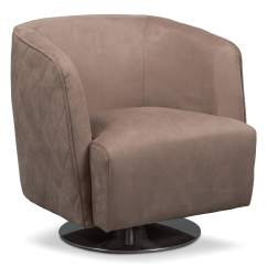 Swivel Chair Value City Folding Recliner Santana Taupe Furniture