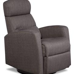 Grey Fabric Swivel Office Chair Wheelchair You Died Penny Linen Look Rocker Reclining