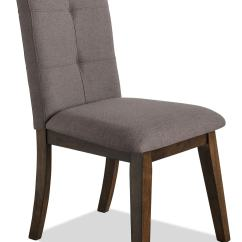 Fabric Dining Chairs Folding Chair Cushions Chelsea  Brown The Brick