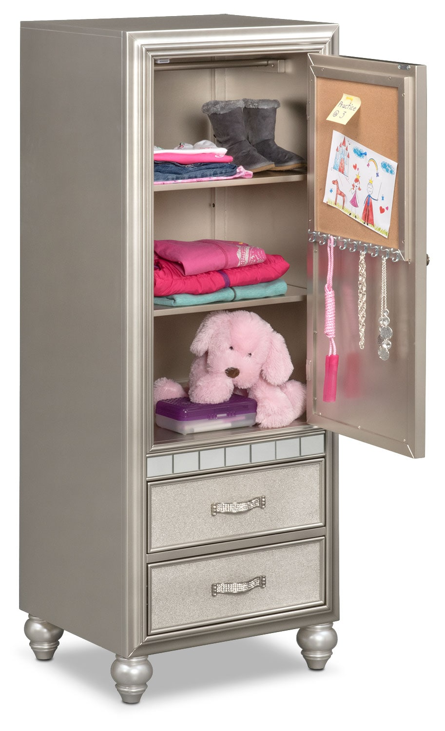 Serena Wardrobe Platinum Value City Furniture