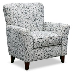 Pewter Chair Heavy Duty Beach Mckenna Accent Multi Value City Furniture
