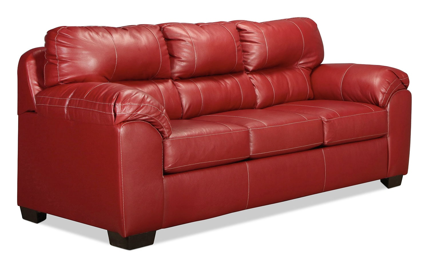 Rigley Queen Sleeper Sofa  Red  Levin Furniture