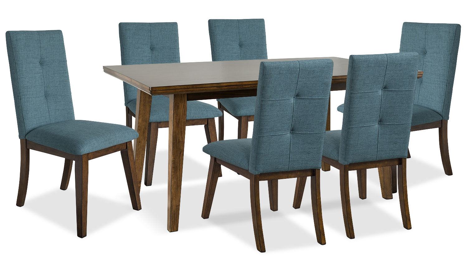 Aqua Dining Chairs Chelsea Fabric Dining Chair Aqua The Brick