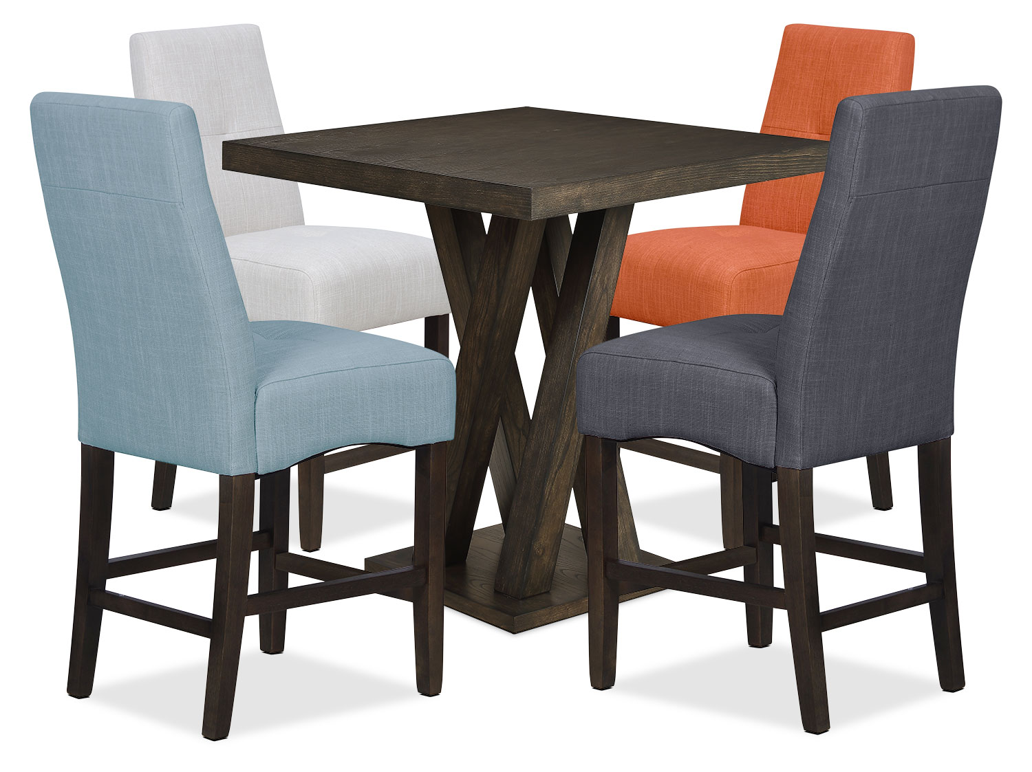 counter height dining chair home theatre chairs india soho  blue the brick