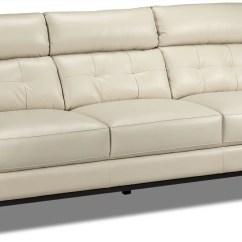 White Leather Accent Chair Canada Orange Wingback Slipcover Linda Loveseat - Smoke | Leon's