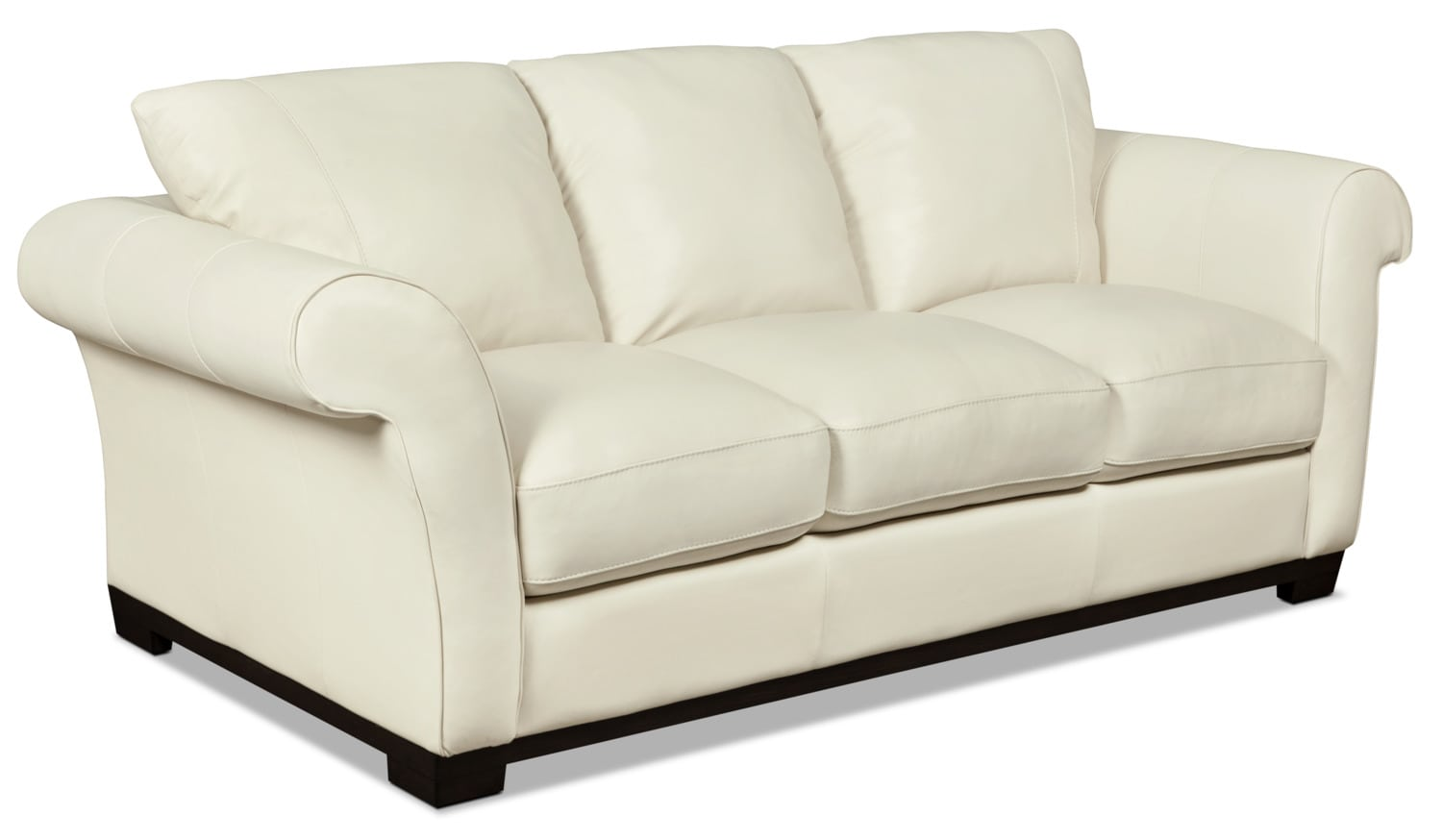 the brick cindy crawford reclining sofa sectional under 500 dollars layla genuine leather  ivory