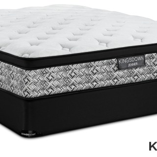 Kingsdown Jenner Cushion Firm Full Mattress And Boxspring Set