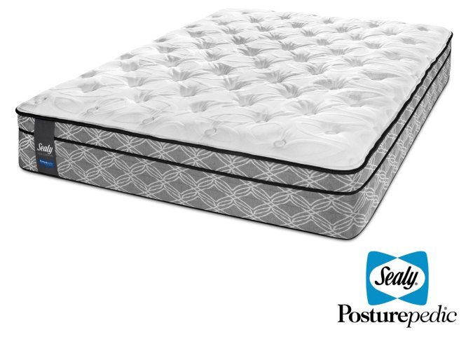 Sealy Moonshade Plush Twin Mattress Hover To Zoom