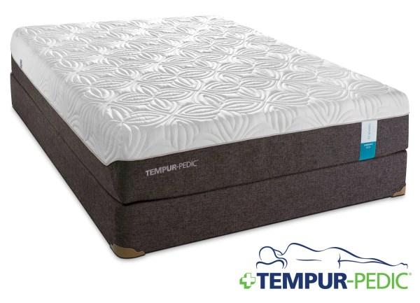 Tempur-pedic Embrace 2.0 Plush Twin Mattress And Boxspring