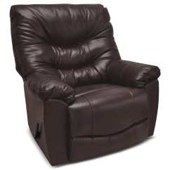 Genuine Leather Chair Cow Print Covers 4595 Rocker Reclining  Espresso