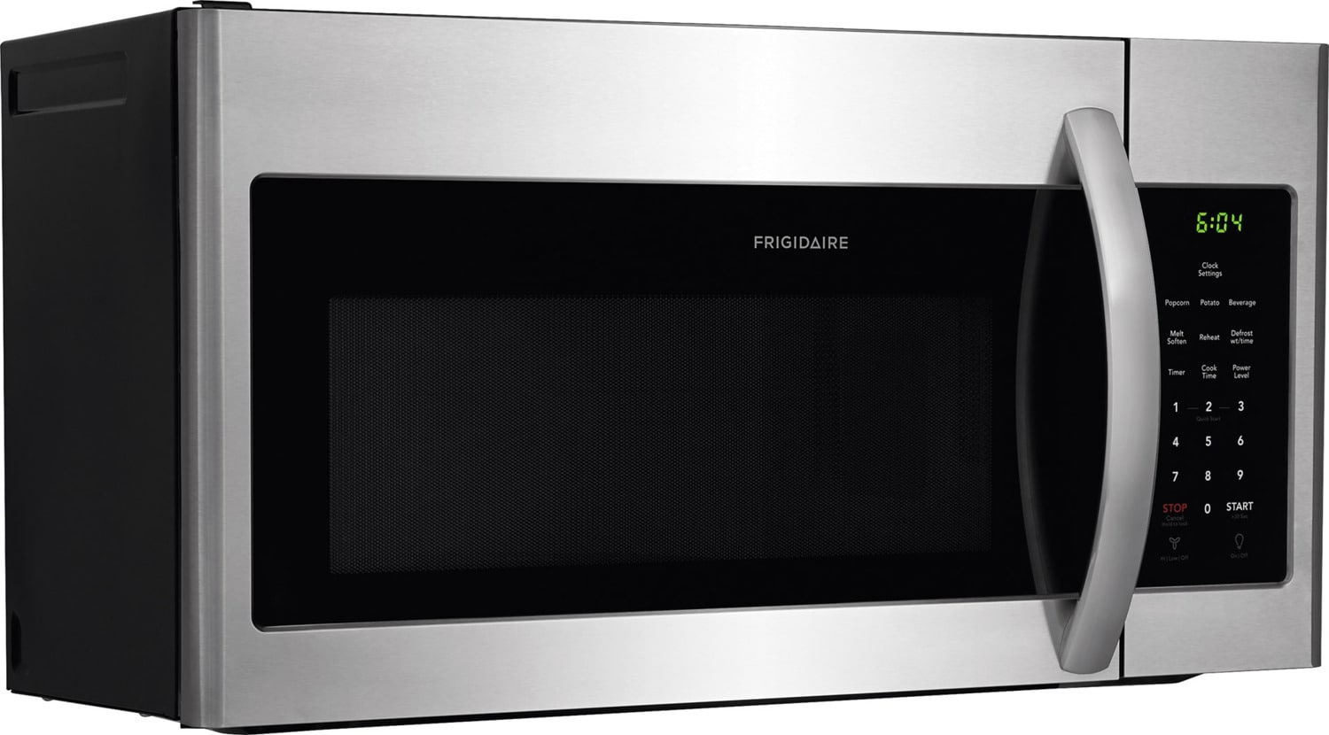 kitchen appliances list clogs frigidaire stainless steel over-the-range microwave (1.6 ...