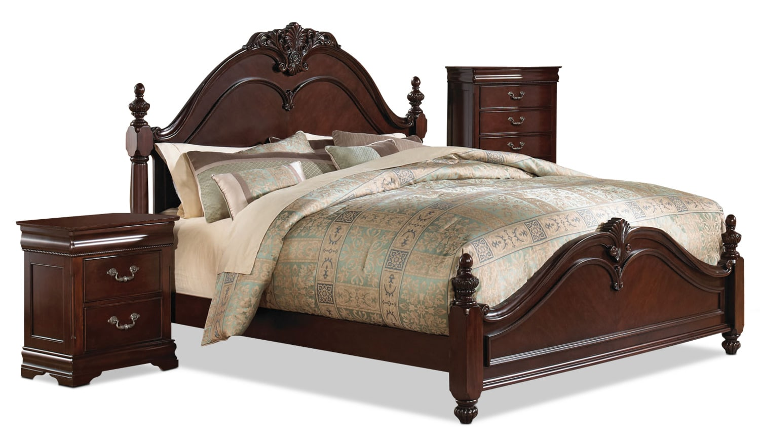 Westchester 5piece Queen Bedroom Package With Chest And