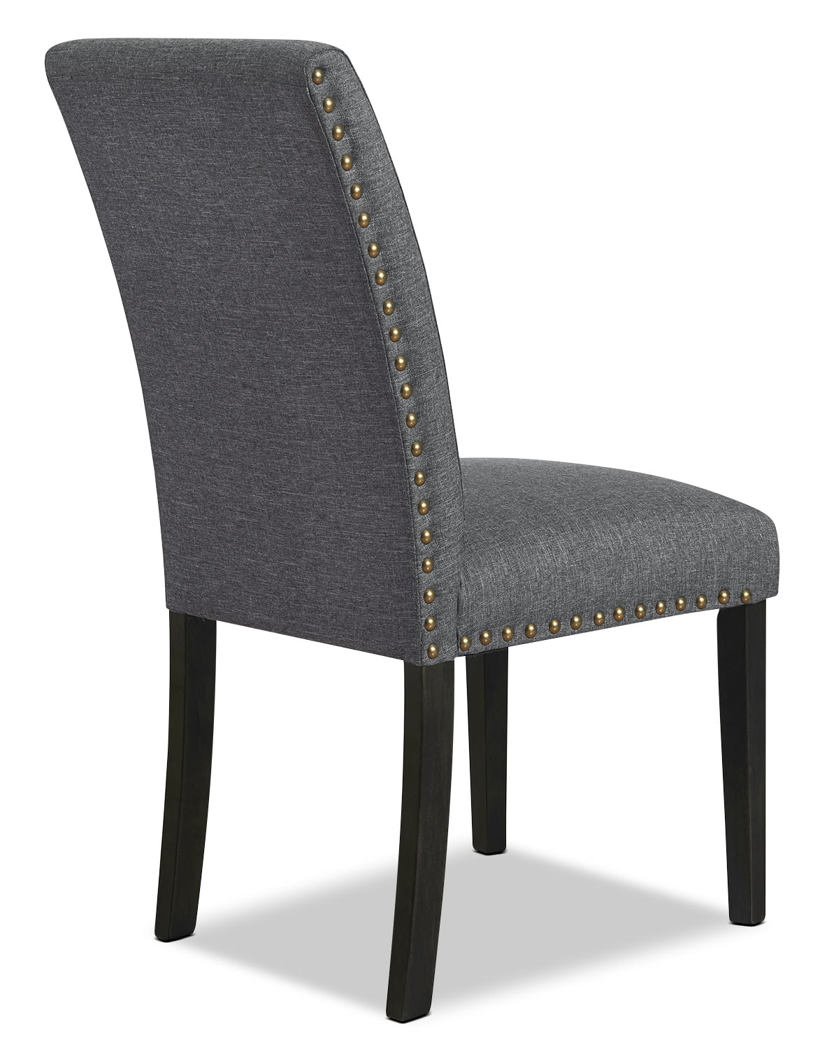 studded dining room chairs optic nadeshot gaming chair york set of 2  grey the brick