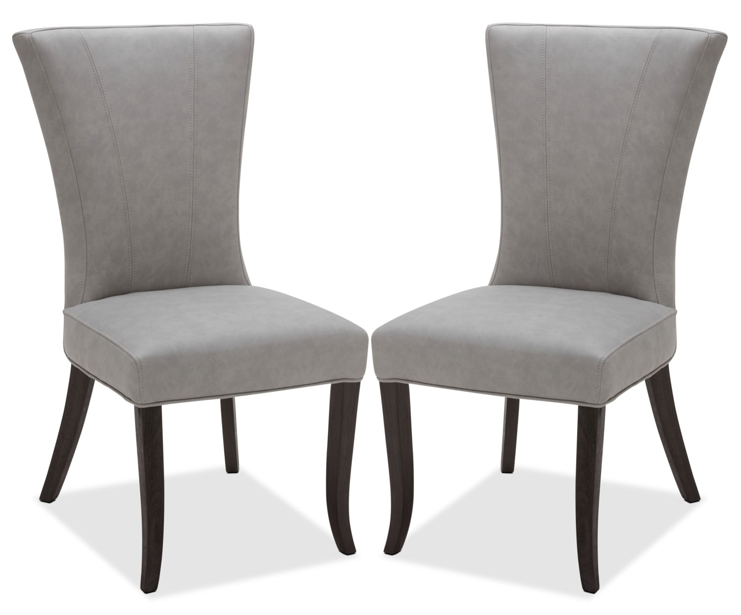 Taupe Dining Chairs Bree Dining Chair Set Of 2 Taupe The Brick