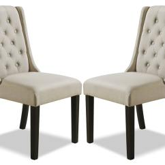 Wing Dining Chair Cheap Accent Chairs York Wingback Set Of 2  Beige The Brick