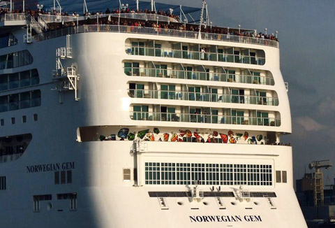 Norwegian Gem Cruises 201820192020  109day twin