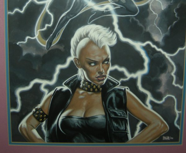 Larkin Bob - X-men Storm Marvel Poster Painting Bottom